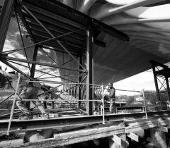 Lisa Ricciotti - photographe chantier - Pont de la République Montpellier Rudy R