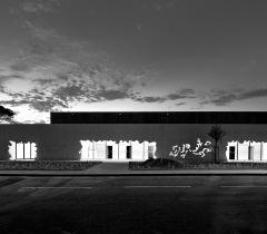 Lisa Ricciotti - photographe architecture complexe sportif Orgon