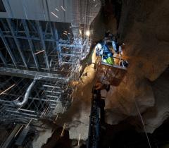 Lisa Ricciotti - photographe chantier grotte chauvet2