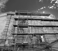 Lisa Ricciotti - photographe chantier voutes major