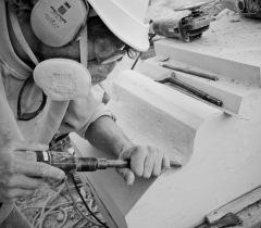 Lisa Ricciotti - photographe chantier voutes major